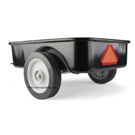 Pedal Trailer Black steel