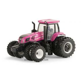 1/64 New Holland T8.410 MFD w/front & rear duals pink