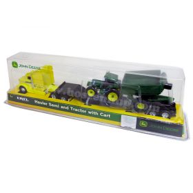 1/64 John Deere semi with JD tractor & Grain Cart