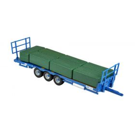 1/32 Kane Hay Bale Trailer Play Set