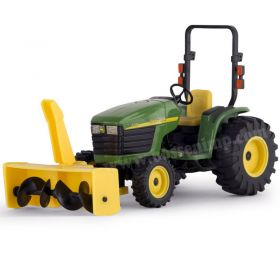 1/16 John Deere 4310 Compact utility tractor with snow blower
