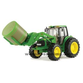 1/16 Big Farm John Deere 7330 MFD w/ bale mover