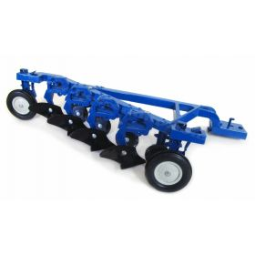 1/16 Blue 4 Bottom Plow