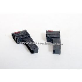 1/64 Mailboxes Rural Modern Style Set of 2