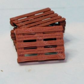 1/64 Wooden Pallets 48 in x 36 in Set of 4