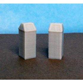 1/64 Garbage Cans Square Set of 2
