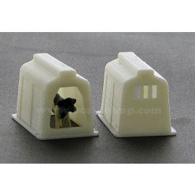 1/64 Calf Hut Set of 2