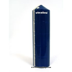 1/64 Grain Bin #1650 Wheatland Assembled Blue