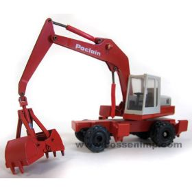 1/50 Poclain Excavator 90 wheeled clam bucket