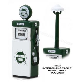 1/18 Gas Pump Wayne 505 w/pump light Quaker State