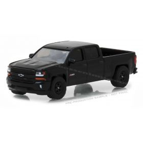 1/64 Chevrolet Pickup Silverado 2018 Midnight Edition