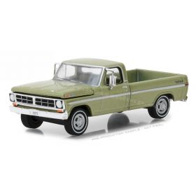 1/64 Ford F-100 Pickup 1970 with long bed lime gold metallic