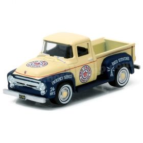 1/64 Ford Pickup F-100 1956 Red Crown Series 1