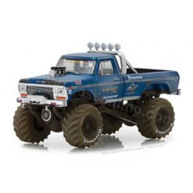 1/64 Ford Pickup F-250 1974 Big Foot Dirty Version Series 1