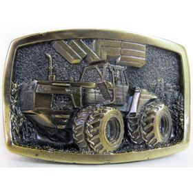 Belt Buckle White 4-270 Limited Edition