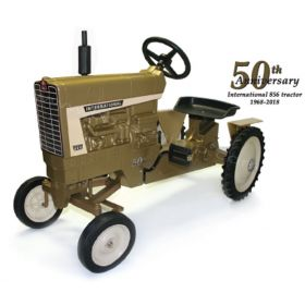 International 856 WF 50th Ann Gold painted Pedal Tractor