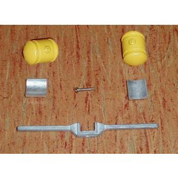 1/64 Saddle Tank Kit JD 8000 Series Yellow