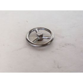 Part 1/16 Steering Wheel Metal  1 1/16 inch