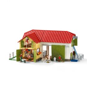 1/16 Barn with animals and accessories