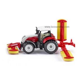 1/64 Steyr 6230 CVT with Pottinger Mower Conditioner