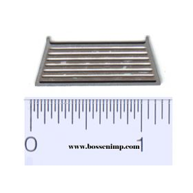 1/64 Headache Rack louvered style Chrome