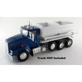 1/64 Fertilizer Tender 2 Hopper Truck Mount