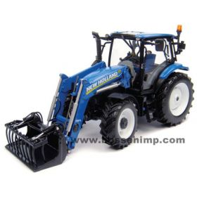1/32 New Holland T6.140 MFD with NH 740TL Loader