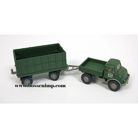 1/87 Mercedes Benz Unimog with Wagon