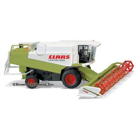 1/87 Claas 480 Lexion Combine with grain platform
