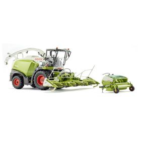1/32 Claas Forage Harvester Jaguar 860 w/2heads