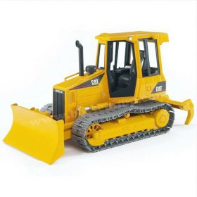 1/16 Caterpillar Crawler w/blade and flat tracks, plastic