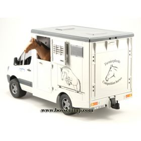 1/16 Mercedes Benz Sprinter Animal Transporter w/Horse
