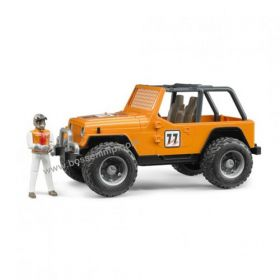 1/16 Jeep CJ Cross Country Racer orange