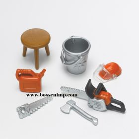 1/16 Accessory Set Farming and Forestry Accessories
