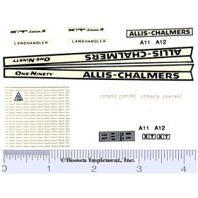 Decal 1/16 Allis Chalmers 190-XT Set (Landhandler)