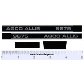 Decal 1/16 AGCO-Allis 9675 Set