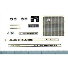 Decal 1/16 Allis Chalmers 220 Set (landhandler)