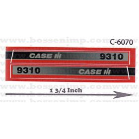Decal 1/32 Case IH 9310 4WD Side Panels