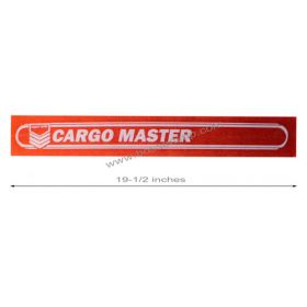 Decal Coaster Wagon Cargo Master (Pair)