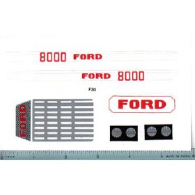 Decal 1/12 Ford 8000 set (large)