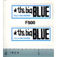 Decal 1/12 Ford The Big Blue Forage Wagon