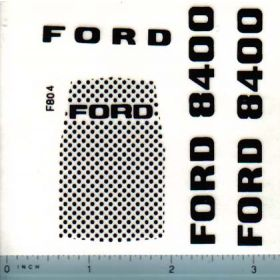 Decal 1/12 Ford 8400 Set Converts 8000
