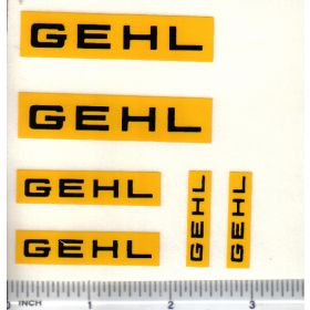 Decal Gehl Set