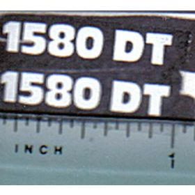 Decal 1/16 Hesston 1580DT Model #