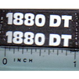 Decal 1/16 Hesston 1880DT Model #