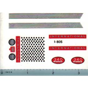Decal 1/16 International 340 Industrial Set