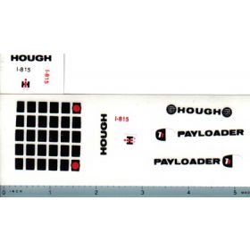 Decal 1/16 International Hough Pay Loader Set