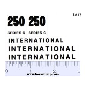 Decal 1/12 International Crawler 250 Set