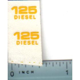 Decal 1/16 John Deere Skid Steer Loader 127 Diesel Model Numbers