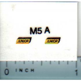 Decal 1/16 Massey Harris Junior